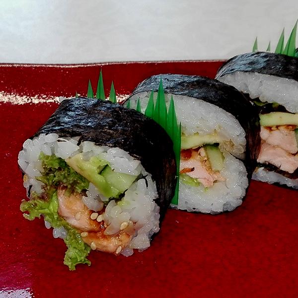 Futomaki Grill Salmon
